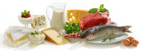 thuc pham giau protein