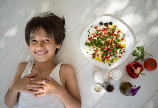 che do an kieng mediterranean chua nhieu rau
