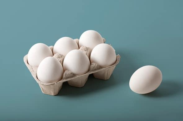 mot qua trung chua bao nhieu protein